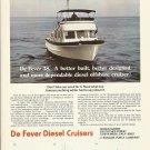 1972 Jensen Marine De Fever 38 Offshore Cruiser Color Ad