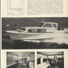 1965 Century Boat Company Ad- The 33' Sedan Cruiser- Specs-Photos