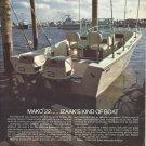 1972 Mako Marine Boats Color Ad- The Mako 22