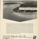 1966 Chubb & Son Insurance Ad-Great Aerial Photo of Sandy Point Abaco The Bahamas
