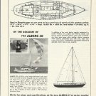 1966 Whitby Boat Works LTD Ad- The Alberg 37- & 30