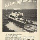 1967 Trojan Boat Company Ad- The 28' Sea Skiff Bimini