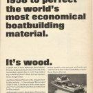 1966 U S Plywood Ad Featuring Lyman 28' Islander Day Cruiser