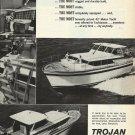 1966 Trojan Boat company Ad- The Trojan 42' Motor Yacht