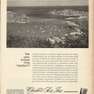 1966 Chubb & Son Insurance Ad-Great Aerial Photo of St. Georges Harbor Grenada