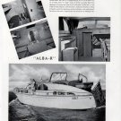 "1941 Burger Boat Company Ad- The 44' ""Alba- R"" Nice Photos"