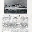 1941 Matthews Yacht Co. Matthews 38' Sedan Review & Photo