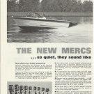 1964 Kiekhaefer Mercury Outboard Motors & Stern Drives 5 Page Ad