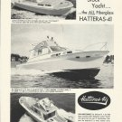 1961 Hatteras Yacht Company Ad- The Hatteras 41