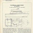 1975 Uniflite Boats Inc Omega 28 Sport Cruiser Review & Specs