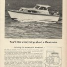 1964 Pembroke Boats Inc Ad- Express Cruiser