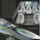 2007 Dave's Custom Boats Color Ad- The Mach F32