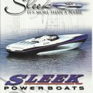 2007 Sleek Powerboats Color Ad