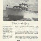 1960 Huckins Yacht Corp. Ad- The Fairform Flyer