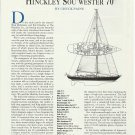 1994 Hinckley Yachts Sou' Wester 70 Review & Specs