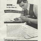 1945 Sturgeon Bay Shipbuilding Company Ad- Engineer Theme