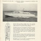 1957 Huckins Yacht Corp Ad- The Atlantis 52
