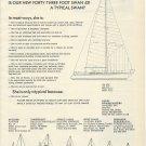 1975 Nautor Yachts Ad- The Swan 431- Specs