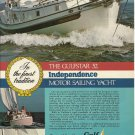 1975 Gulfstar Yachts Color Ad- The Gulfstar 52'