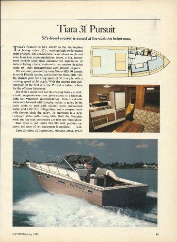 1980 Tiara Boats 31' Pursuit Review & Photo