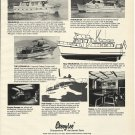 1975 Cheoy Lee Shipyards Ad- Trawler 55-50-36 & Corsair 42