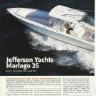 2008 Jefferson Yachts Marlago 35 Review & Specs- Photos