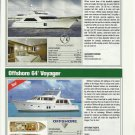2010 Ocean Alexander 68 & Offshore 64' Viyager New Yachts Reviews & Specs-Photos
