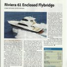 2010 Riviera Yachts 61' Enclosed Flybridge Review & Specs- Photo