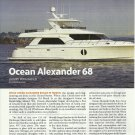2010 Ocean Alexander 68' New Yacht Review & Specs- Photos