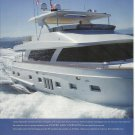 2010 Ocean Alexander Yachts 2 Page Color Ad- The Ocean 83'