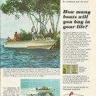 1968 Larson Boat Company Color Ad- The 16'- 17' & 18' All American