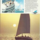 1970 Morgan Yacht Corp Color Ad- The Out Island 36