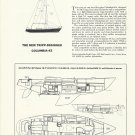 1970 Columbia Yacht Corp Columbia 43 Review & Specs