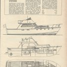 1967 C Raymond Hunt 42' Sportfisherman Yacht Review & Specs-Syntonic