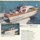 1958 Trojan Boat Company Color Ad- The Sea Breeze 22' & 27'