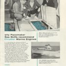 1958 Chrysler Marine Engines Ad- Pacemaker Sea Skiff Boat