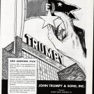 1943 WW II John Trumpy & Son Inc War Boats Ad- Army-Navy E Award