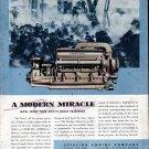 1943 WW II Sterling Engine Co. Color Ad- U S Navy Motor Torpedo Boat