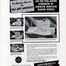 1942 Kermath & Hercules Marine Engines Ad- Model 6-288