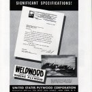1942 WW II U S Plywood Corp. Ad- Luders War Boats
