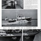 1942 Henry Nevins Built New York City Rescue Boat Ad- Nice Photos