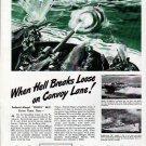 1943 WW II Federal Mogul Ad- DE- Pt Boats