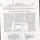 "1940 Mathis Yacht Building Co 55' Cruiser ""Nameni"" Review"