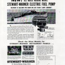 1940 Stewart- Warner Corp Ad- Boat Electric Fuel Pump Model 110-M