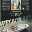 1981 Wellcraft Marine Corp Color Ad- The V-20 Fisherman Boat
