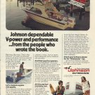 1981 Johnson Outboards Color Ad- The 90 HP Outboard Motor