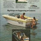 1981 Cruisers Boats Color Ad- Baron SX & Holiday/ 25- Hot Girl
