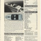 1981 Cobalt Boats 22' Condesa Review & Specs- Photo