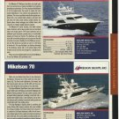 2005 Mikelson 61' & 70' New Yachts Reviews & Specs- Photos