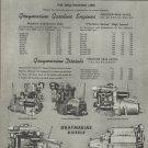 1945 Gray Marine Motors 2 Page Ad
